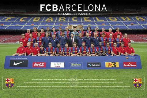 Barcelona Team Picture.